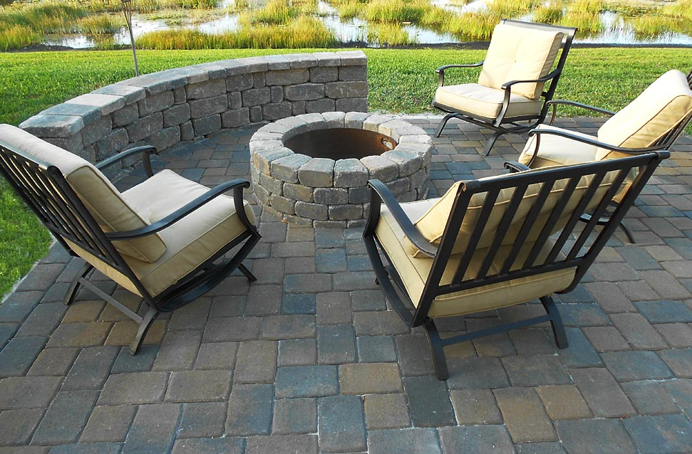 Light Up Your Gainesville Patio With A Stone Fire Pit