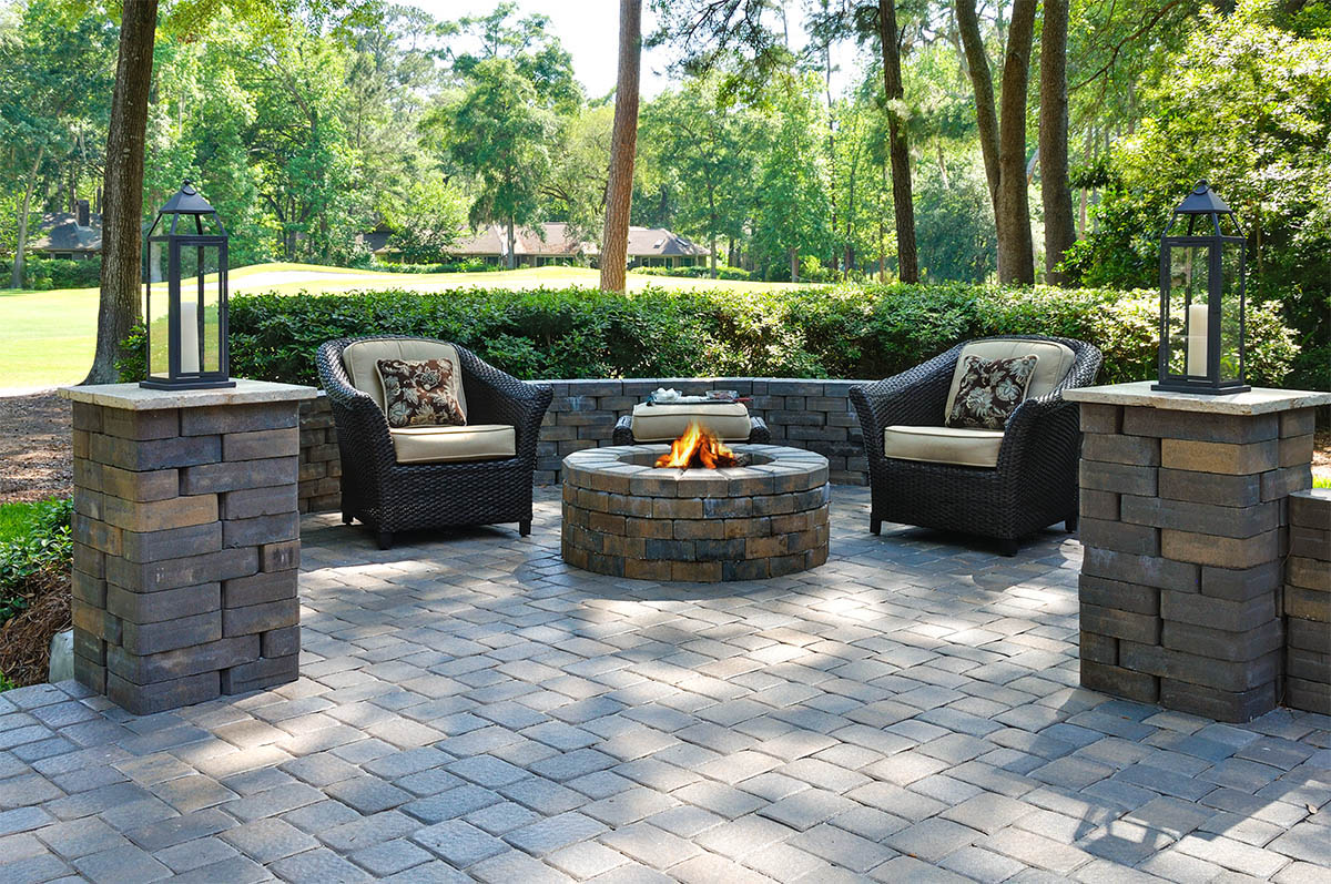 Trends in Gainesville Brick Pavers and Patios | The ... on Backyard Masonry Ideas id=80816