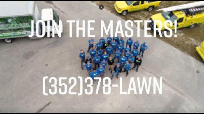 Embedded thumbnail for Come Join The Master's team! Gainesville Landscape Job Opportunities
