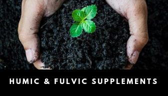 Humic and fulvic supplements