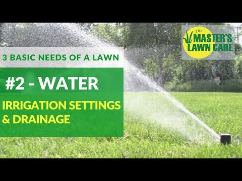 Embedded thumbnail for 3 Basic Needs of a Healthy Gainesville Lawn: Water