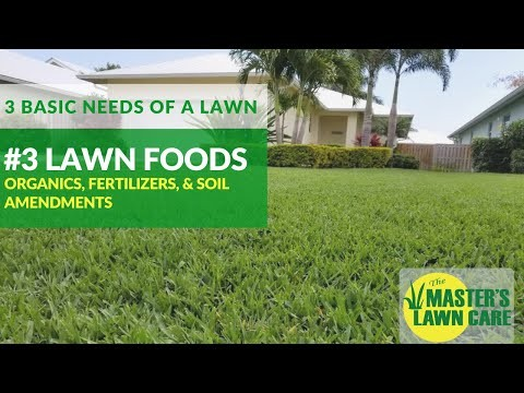 Embedded thumbnail for 3 Basic Needs of a Healthy Gainesville Lawn: Fertilizer