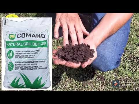 Embedded thumbnail for VLOG: Topdressing a Zoysia Lawn with Comand Organic Soil